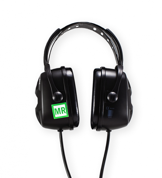 29db NRR over-ear MRI headphones and headset