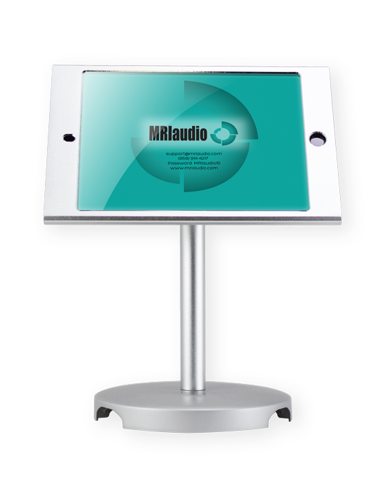 MRIaudio iPad mounted stand