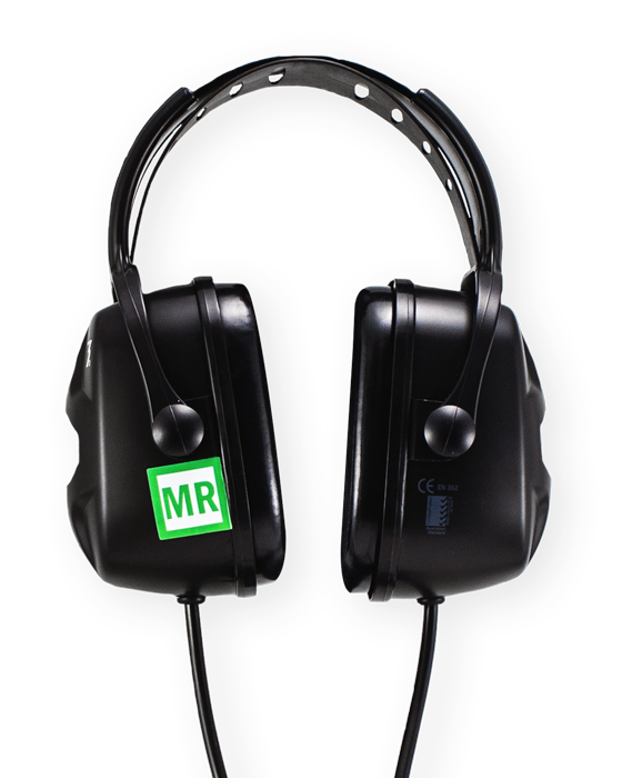 MRIaudio Over Ear Headphones MRI safe headset