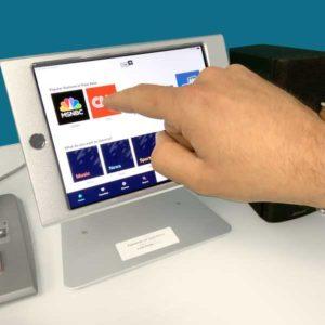 MRIaudio music control iPad tablet