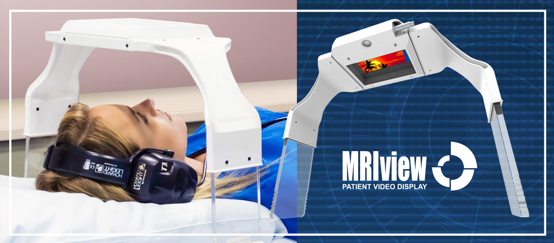 MRIview MRI patient video display system