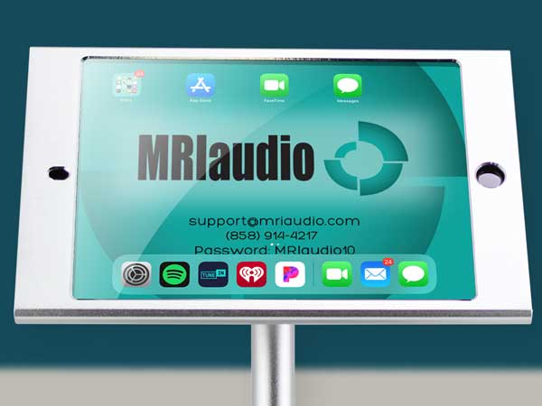 How to use the MRIaudio sound system