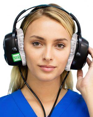 MRI cloth headphone covers