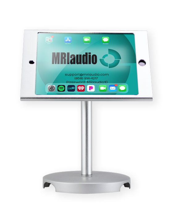 MRIaudio iPad Mini w locking mount