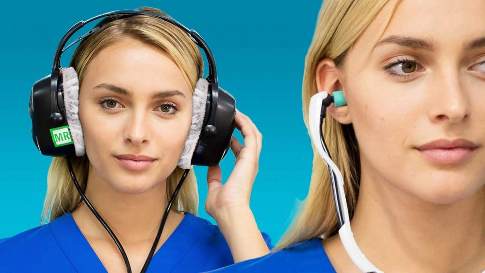 MRI replacement ear plugss and headphone covers