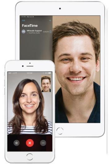 MRIaudio iPad Facetime